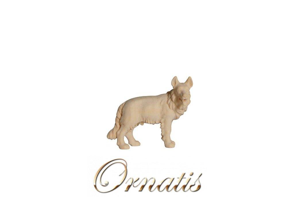 dřevěný pastevecký pes betlém soška prodej betlému