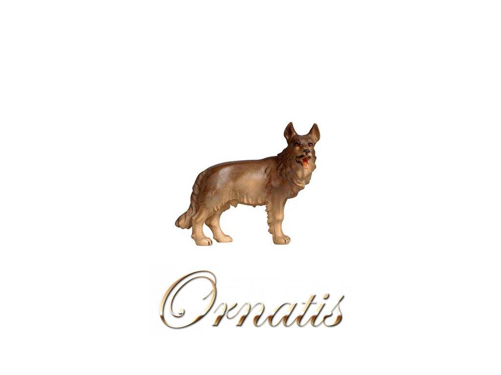 dřevěny vyřezávaný pastevecký pes prodej soch a betlému