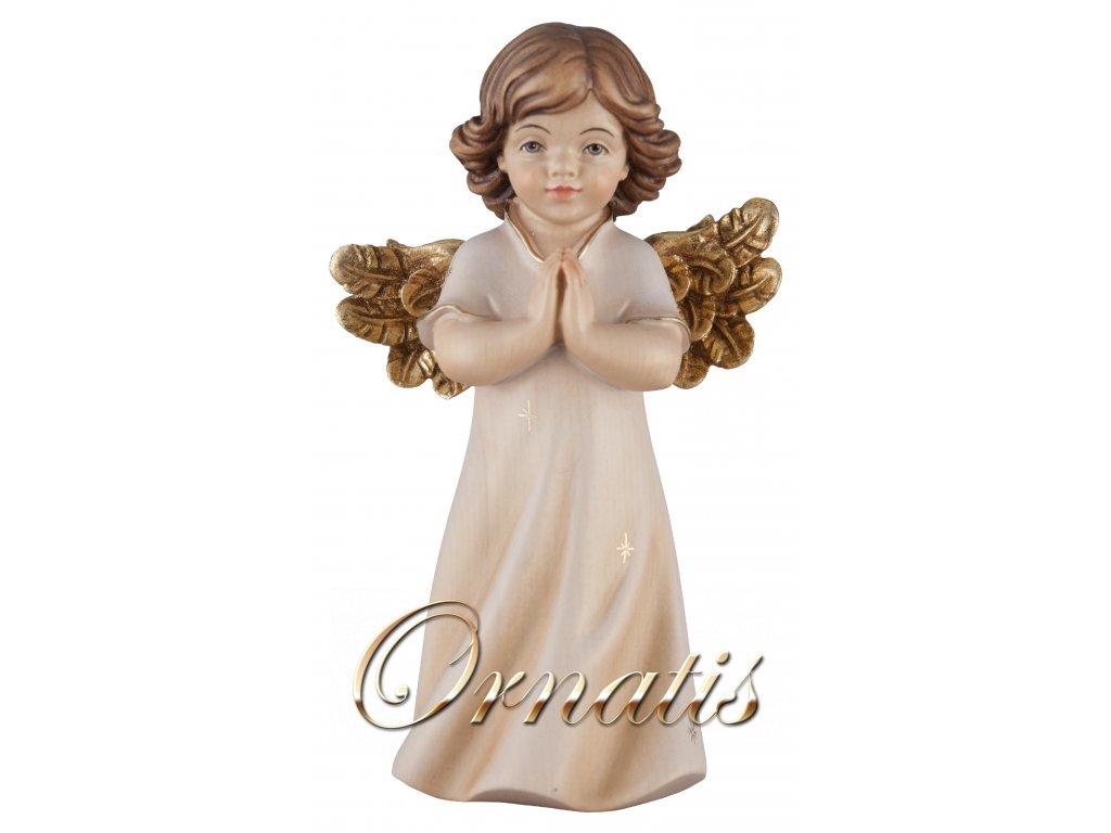 Drevená soška Anděla