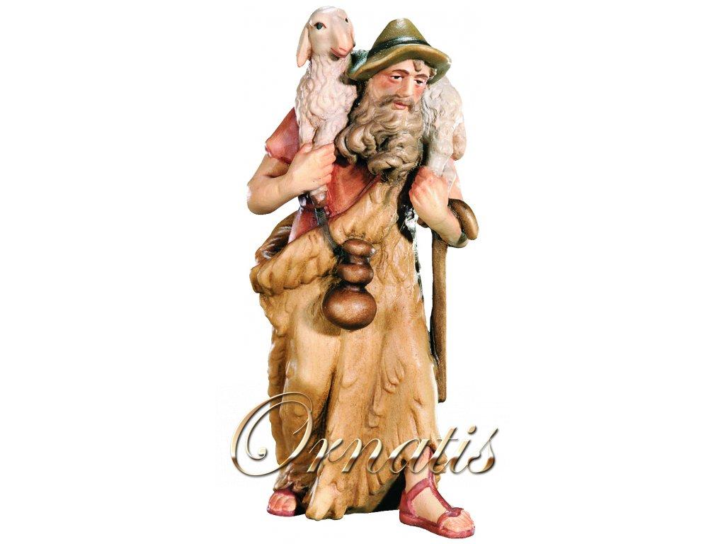 Pastýř s ovečkou na ramenou-prodej betlémů