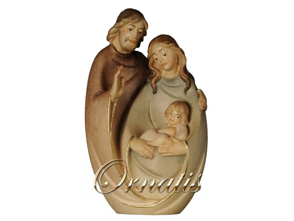 dřeDrevená vyrezávaná svätá rodina