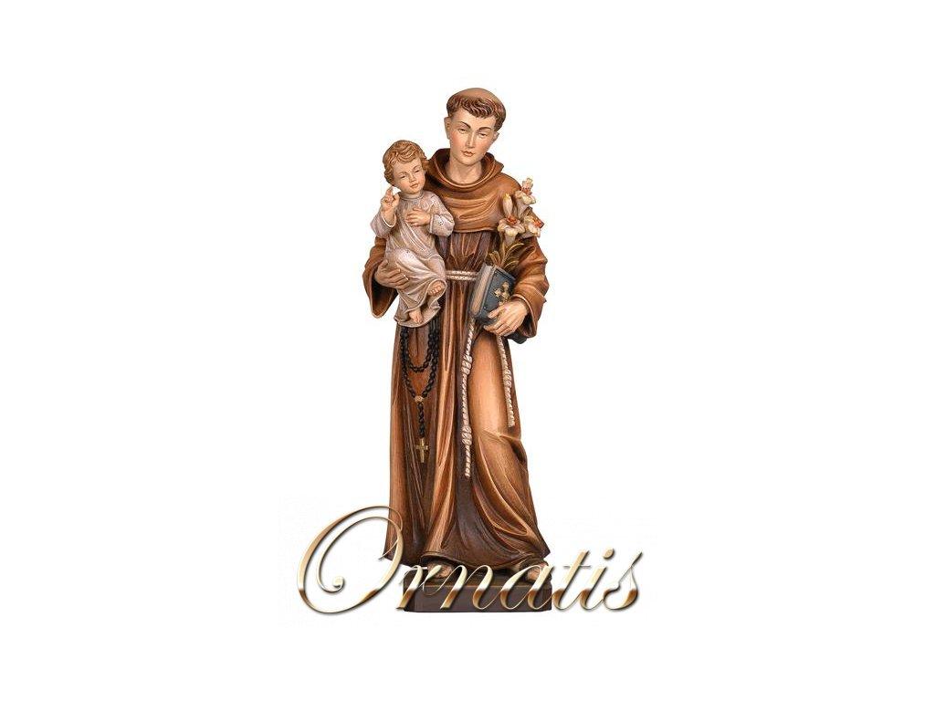 Drevená socha Svätého Antonína z Padovy