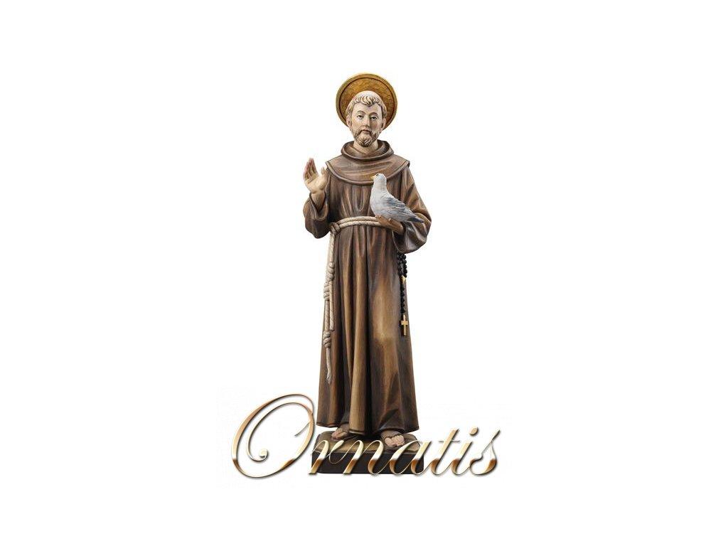 Drevená socha Svätého Františka