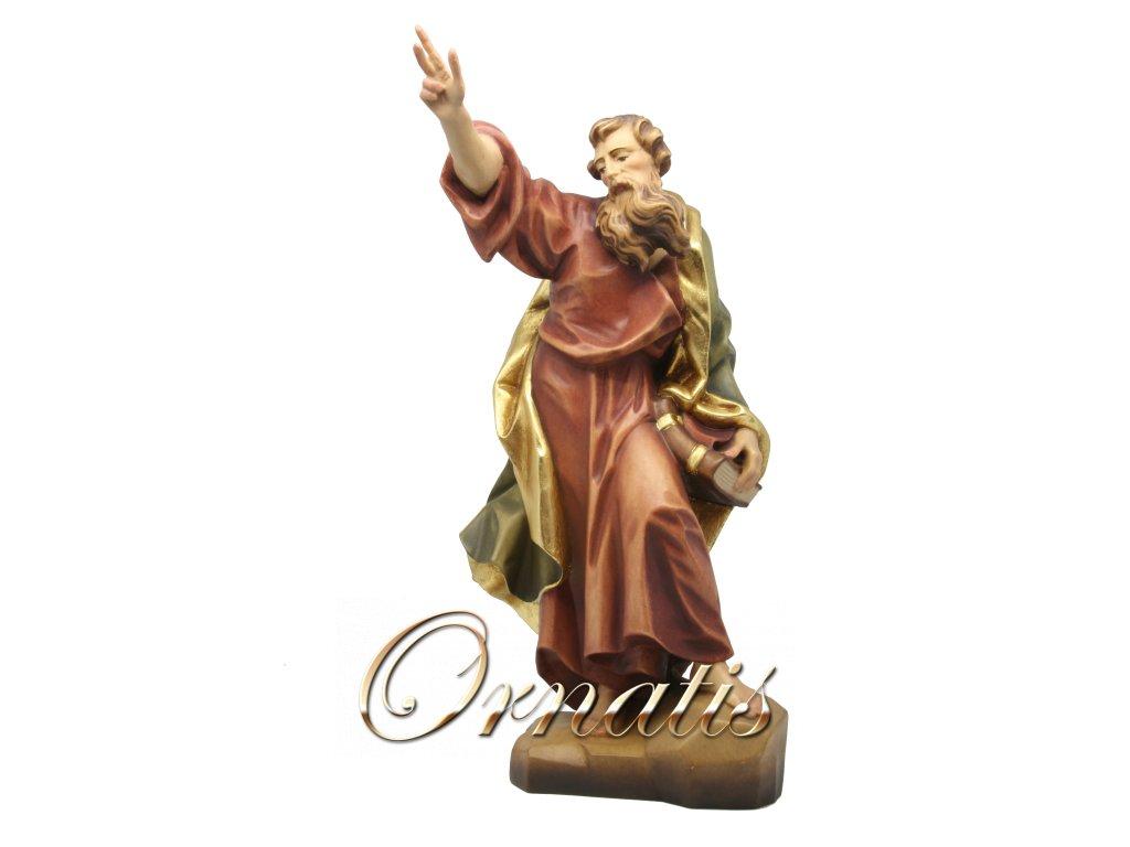 Drevená vyrezávaná Socha Svätého Pavla