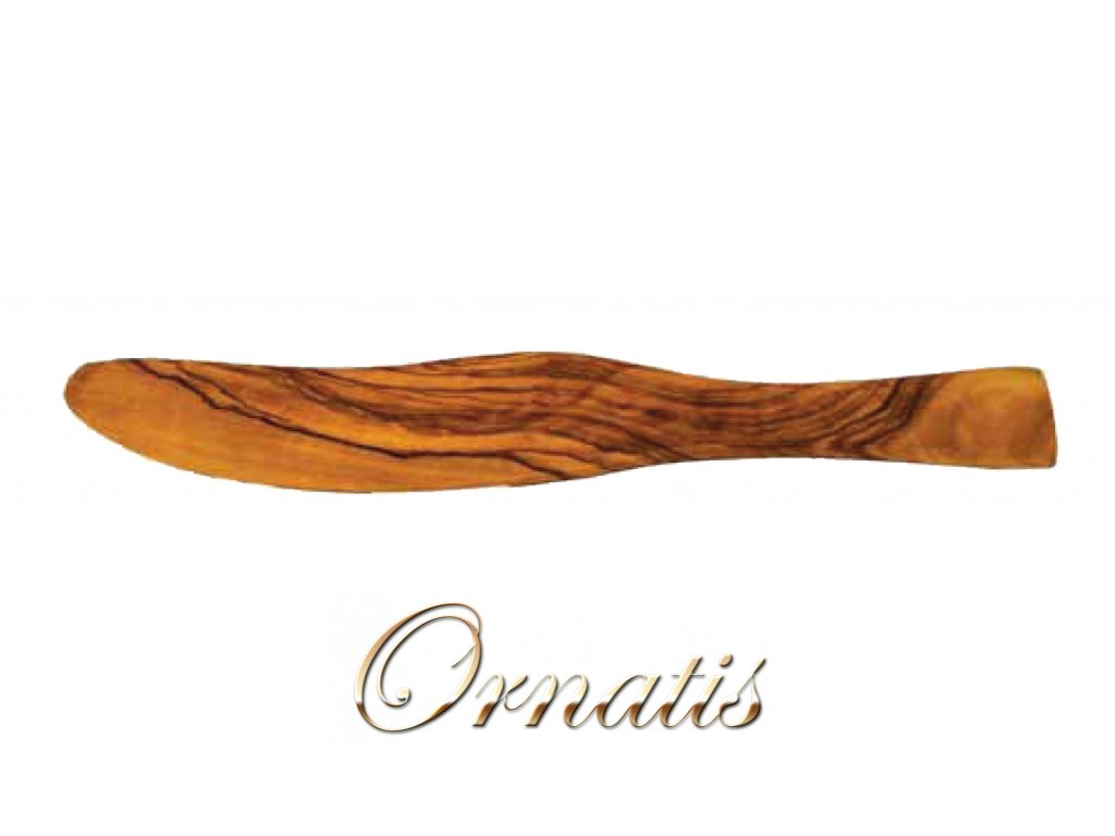 Dřevěný nůž na máslo z olivového dřeva