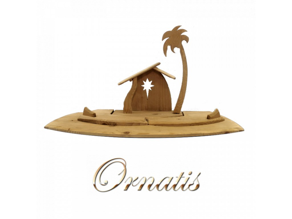 dřevěný betlém chlév salaš narození ježíška prodej betlémů