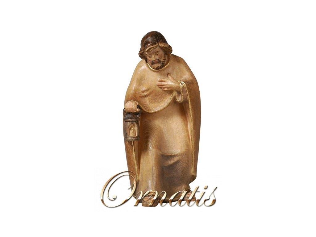 Dřevěná vyřezávaná soška Josefa prodej betlému