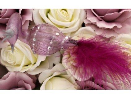 labutě ptáčci vánoční ozdoby skleněné prodej skleněných vánočních ozdob originální ozdoby ze skla