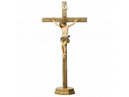 Drevená vyrezávaná soška Ježiša Krista na kríži