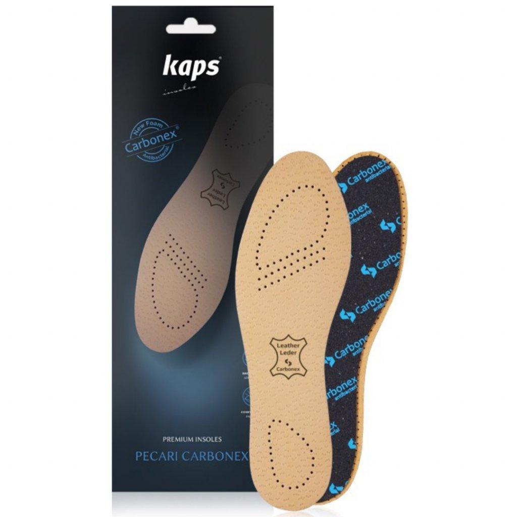 Kožené vložky do topánok Kaps Pecari Carbonex