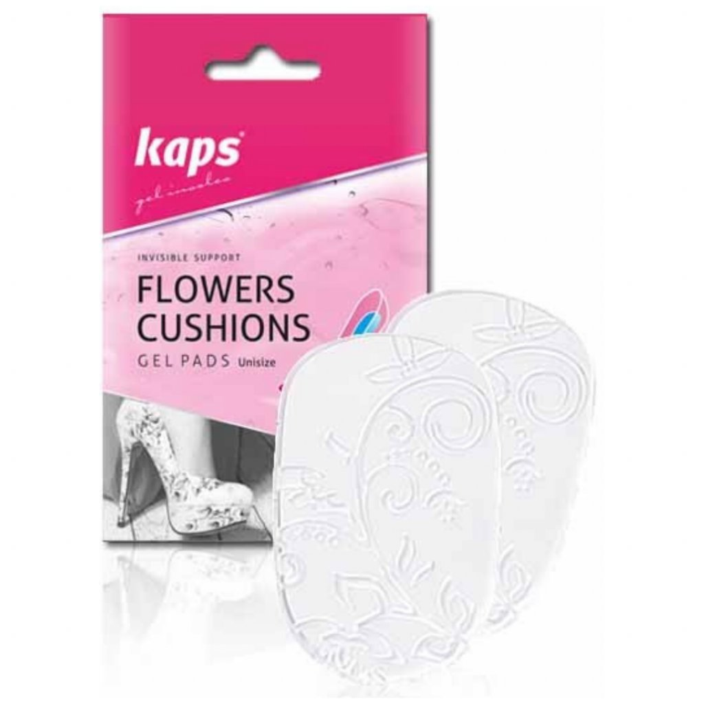 Podpätenky do otvorenej obuvi Kaps Flowers Cushions