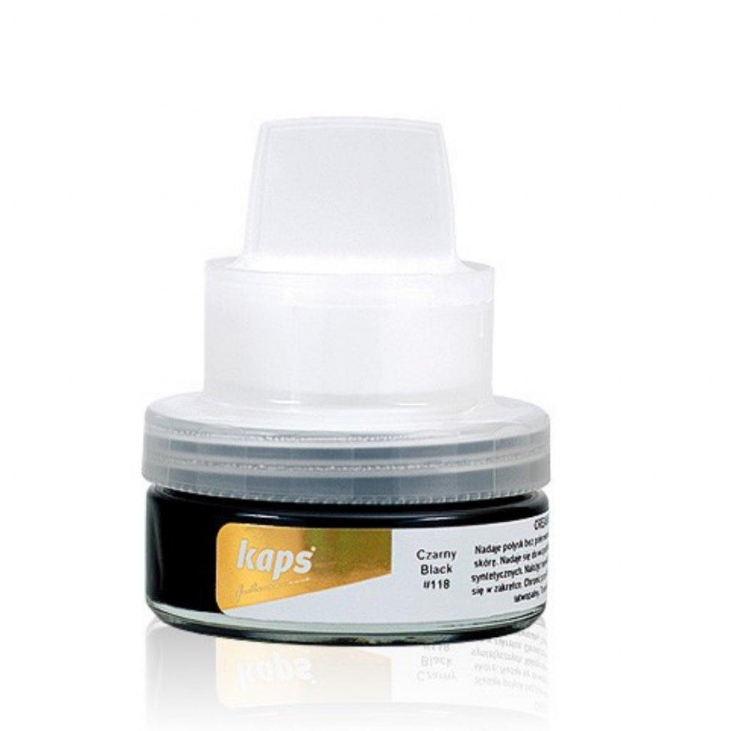 Samoleštiaci krém na topánky Kaps Cream Brillance 50 ml