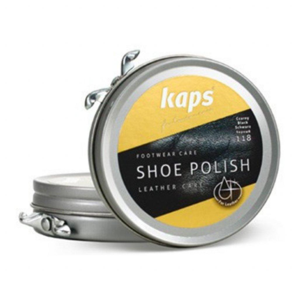 Krém na leštenie topánok Kaps Shoe Polish 50 ml