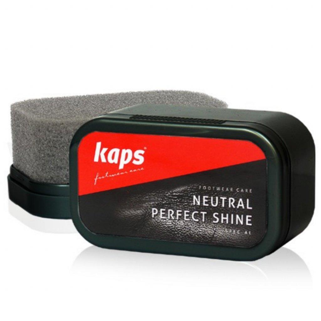 Hubka na leštenie topánok Kaps Neutral Pefect Shine