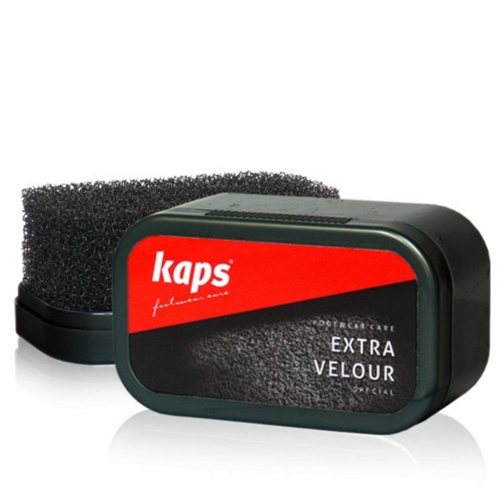 Hubka na čistenie semišových topánok Kaps Extra Velour