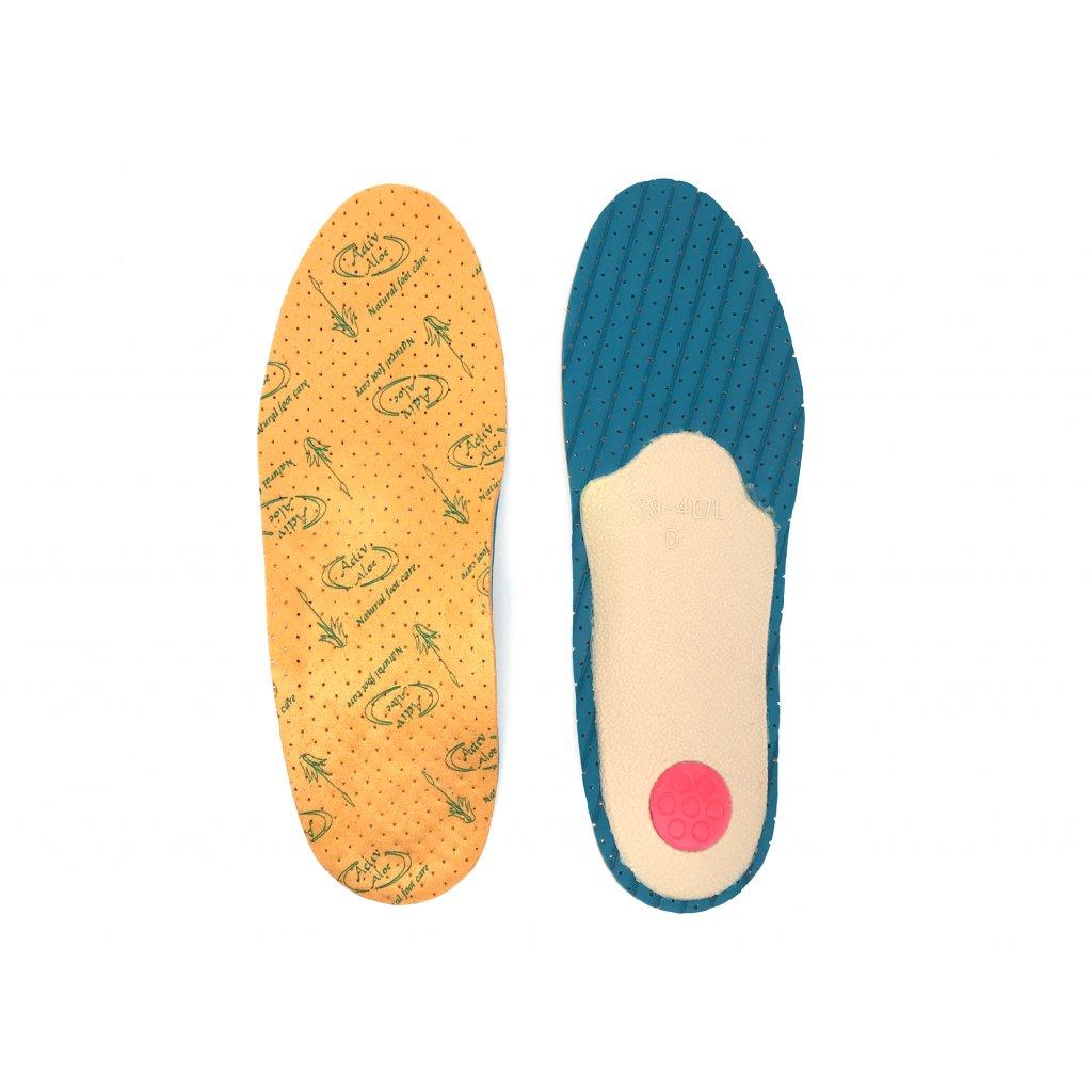 Ortopedické vložky do topánok proti zapáchu ALOE ACTIV (5)