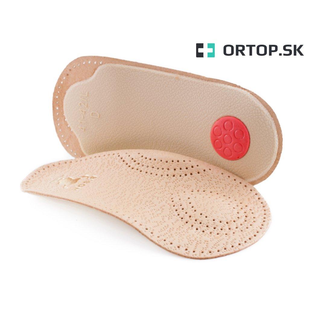 Ortopedické vložky na priečnu klenbu 2 3 dĺžka Ortop