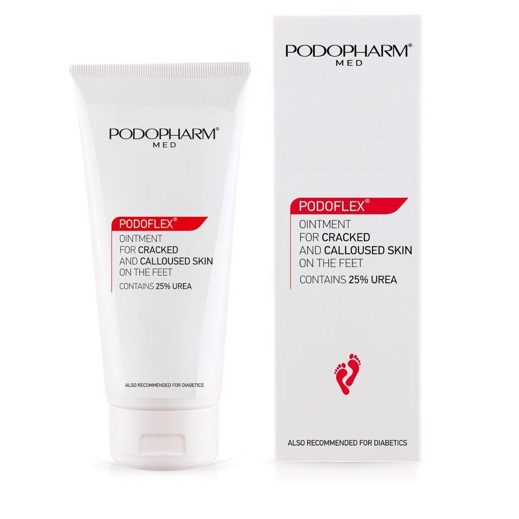 Masť na popraskané päty s 25% urea Podopharm Cracked Calloused Skin
