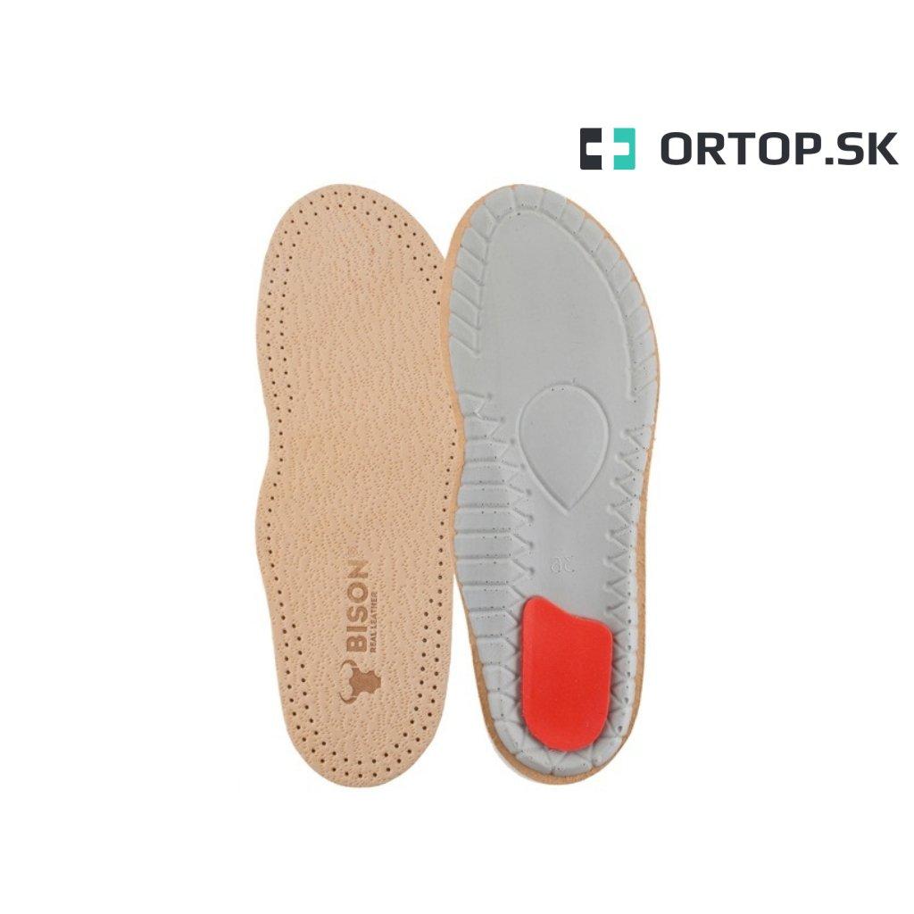 Ortopedické vložky do topánok na pozdĺžnu klenbu s tlmením na päte