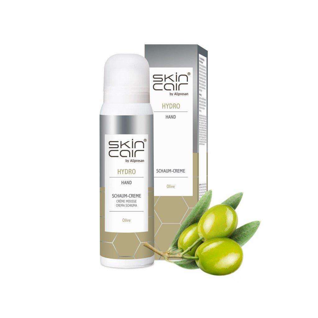 Krémová pena na ruky Skincair by Allpresan HYDRO olivový olej