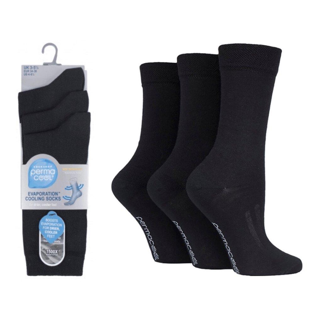 Ponožky proti poteniu Perma Cool s vysokým lemom