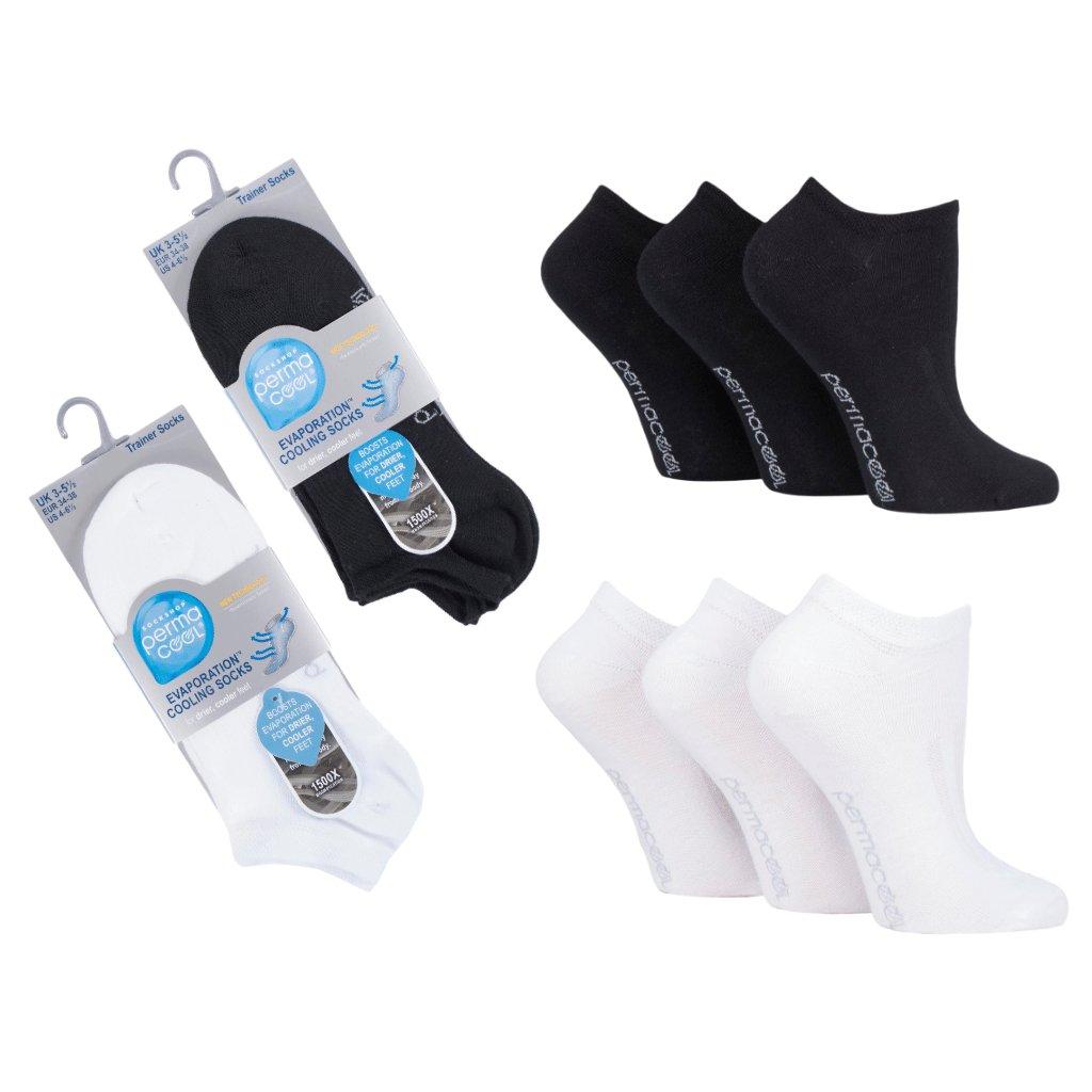 Členkové ponožky proti poteniu Perma Cool one (2)