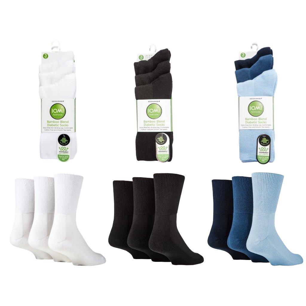 Ponožky pre diabetikov IOMI Bamboo Blend Diabetic (2)