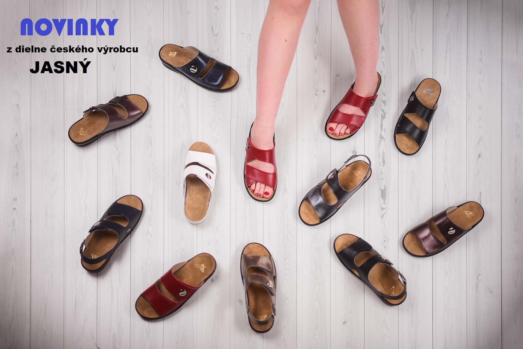 novinky dámskej zdravotnej obuvi s vyberateľnou ortopedickou stiekou