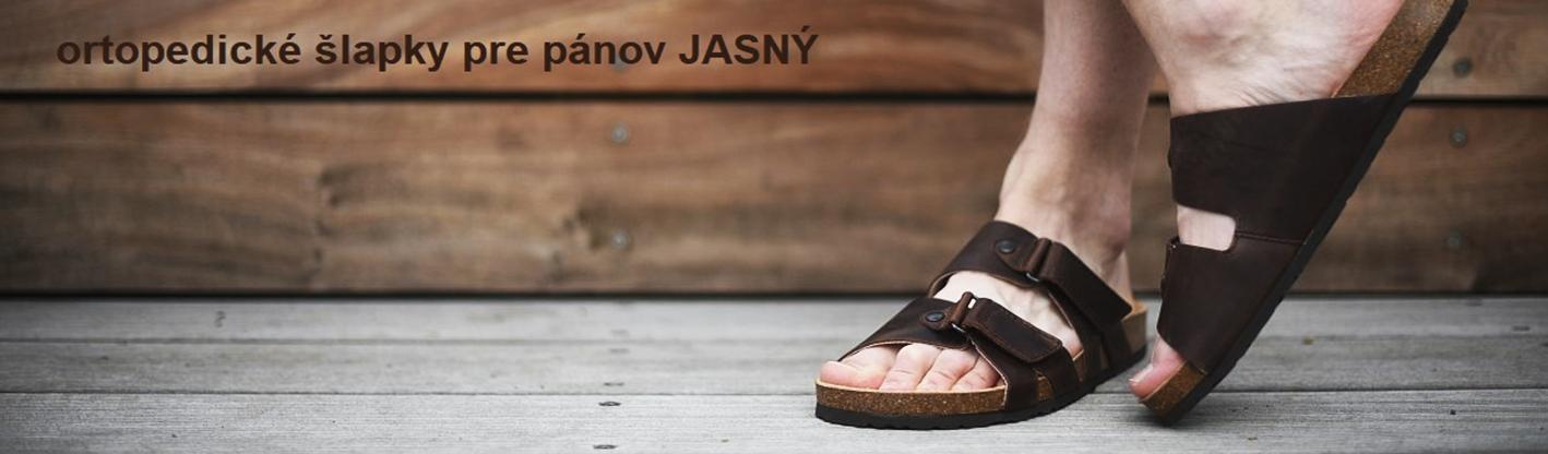 pohodlné ortopedické šlapky JASNY