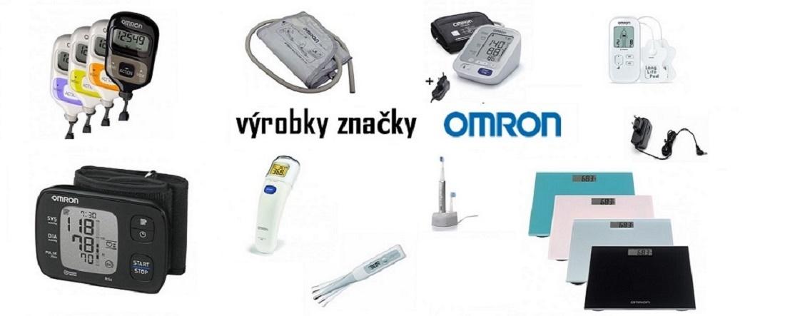 výrobky značky OMRON