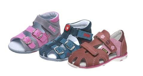 Sandálky - letná obuv