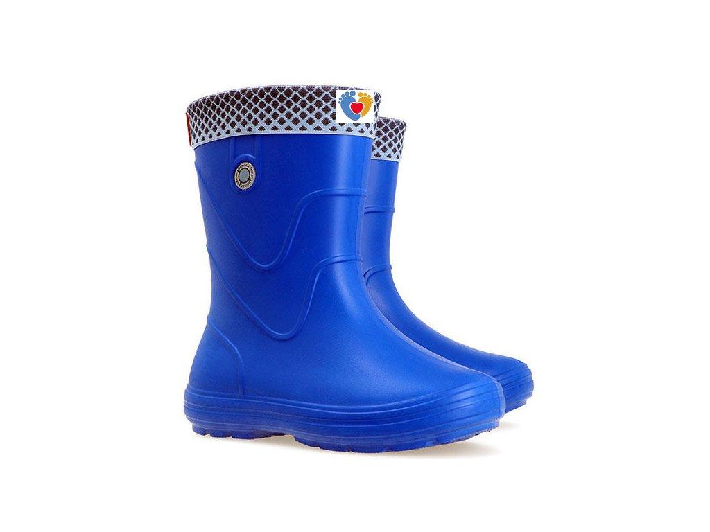 Detské gumáky DEMAR-VIBES 0320 A blue / modrá
