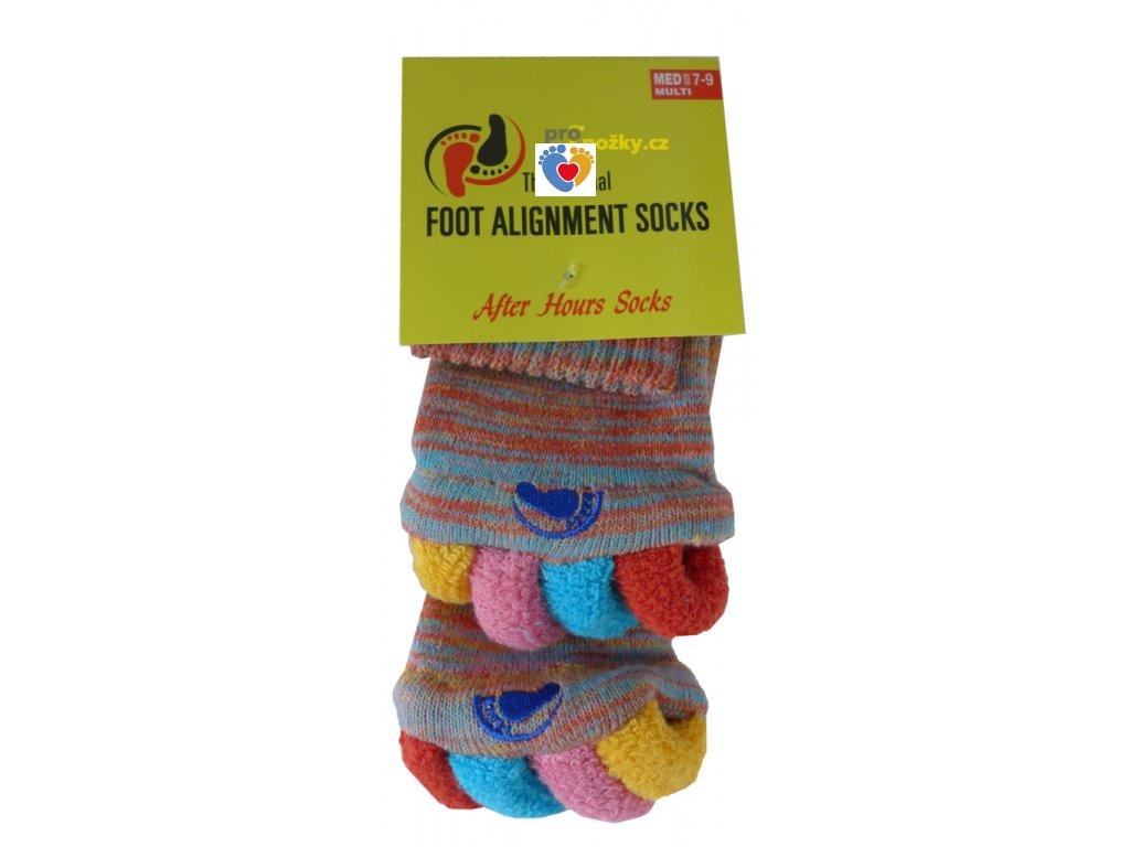 Adjustačné ponožky® MULTICOLOR