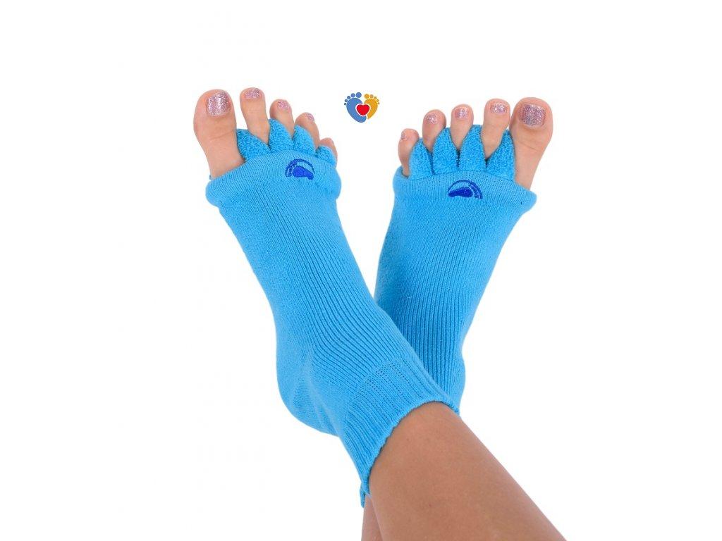 Adjustačné ponožky® BLUE  ortopedické ponožky