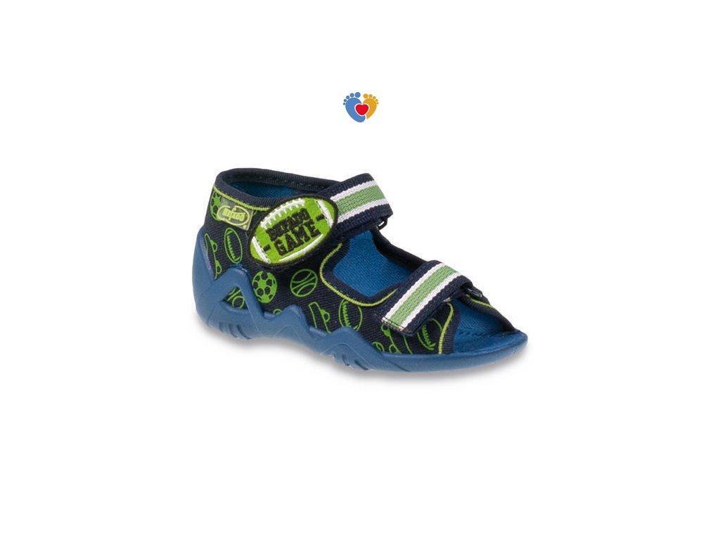 BEFADO detské papuče SNAKE 250P070