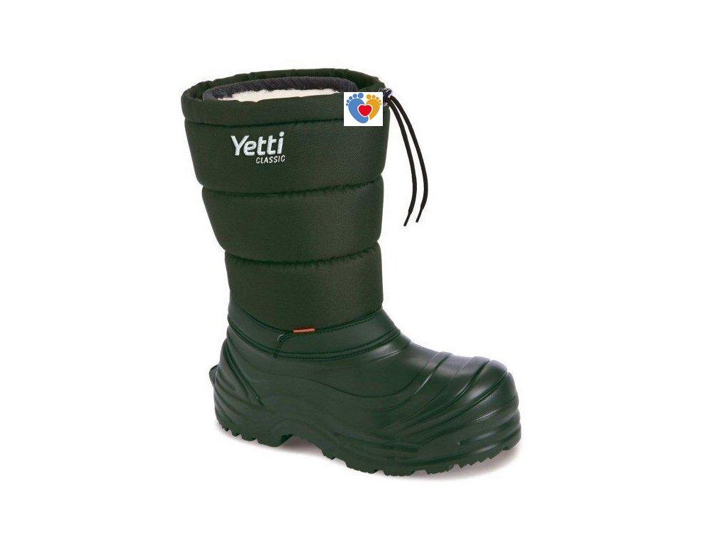 Pánske poľovnícke snehule DEMAR-YETTI CLASSIC 3870 A green