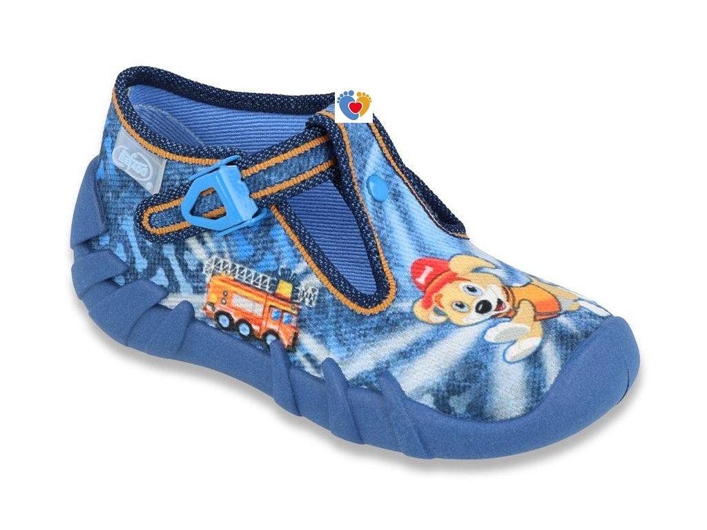 BEFADO detské papuče SPEEDY 110P354