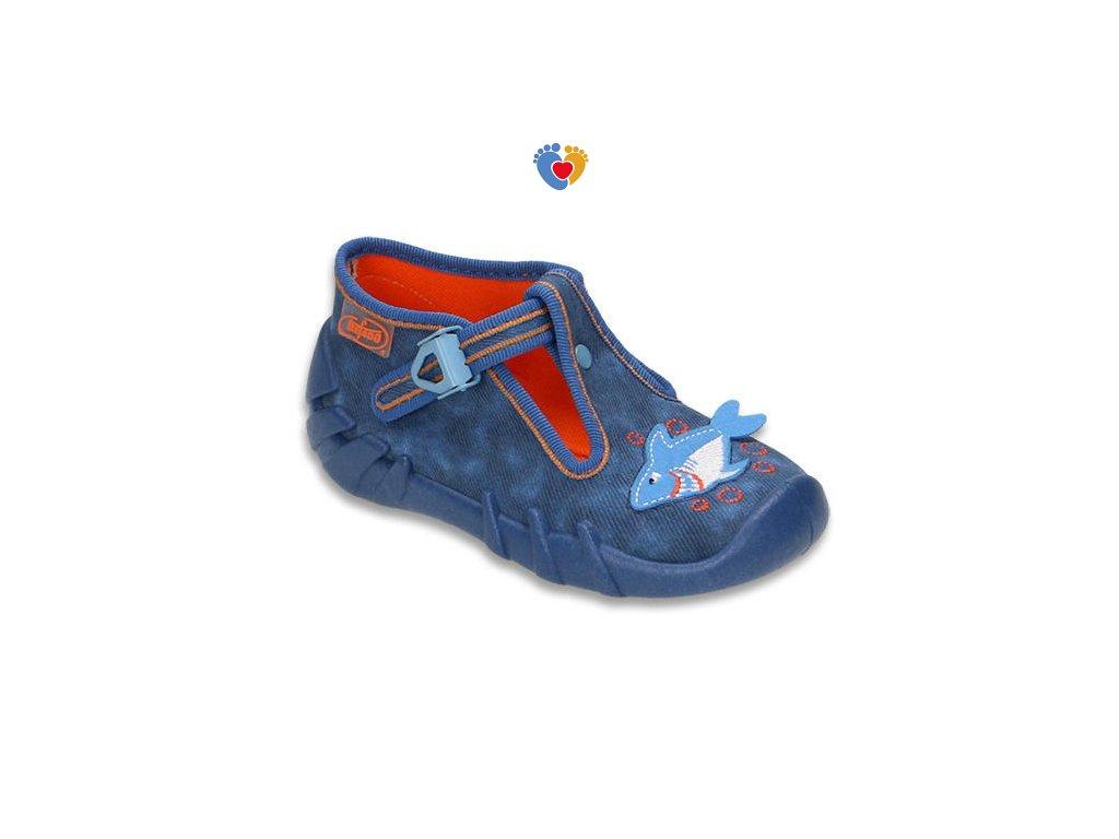 BEFADO detské papuče SPEEDY 110P297