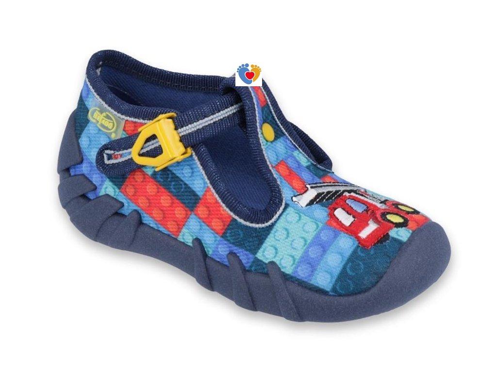 BEFADO detské papuče SPEEDY 110P373