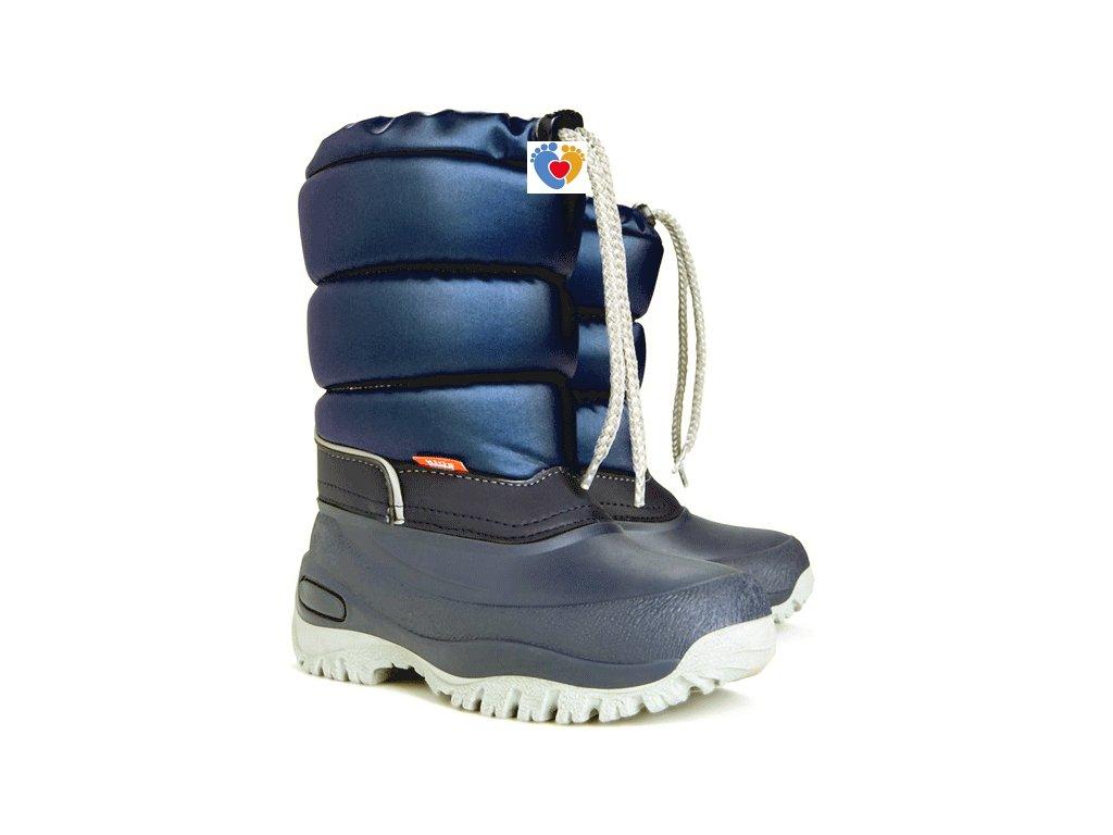 Dámske snehule DEMAR LUCKY M 1417 A blue
