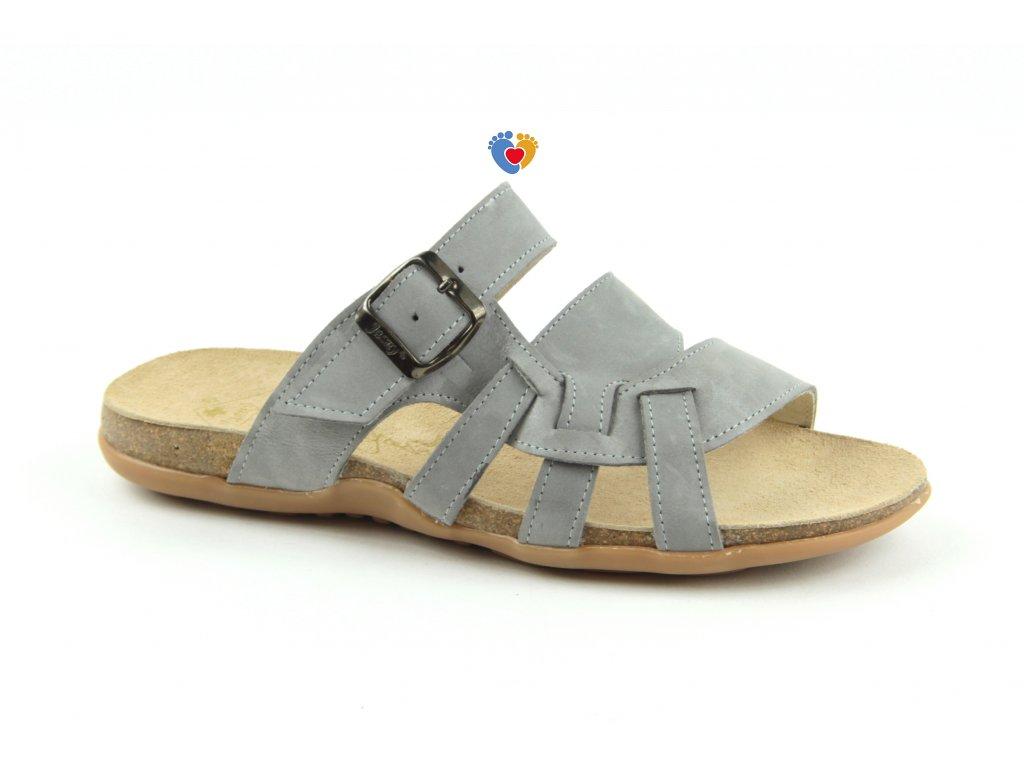 JASNY zdravotná obuv GABRIELLE šedé