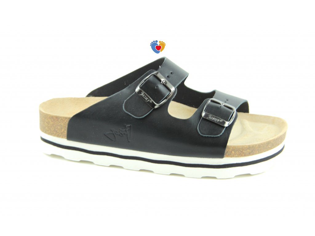 JASNY ortopedická obuv LUCCA SMART platforma čierne
