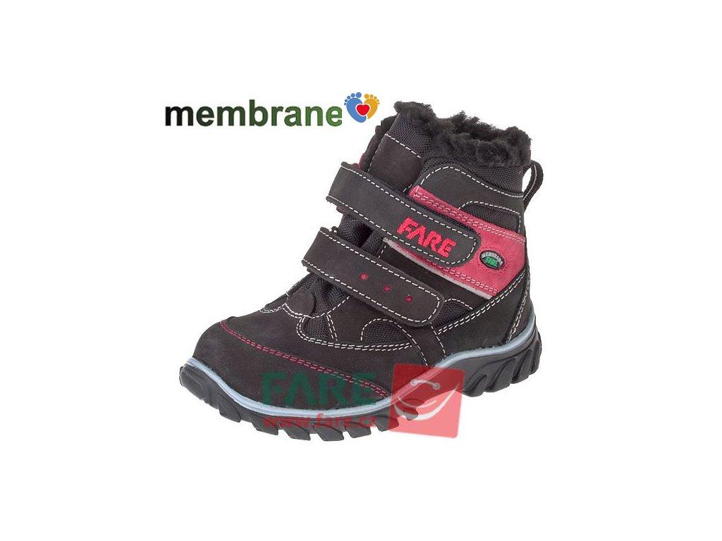 Detská zimná treková obuv FARE 846242