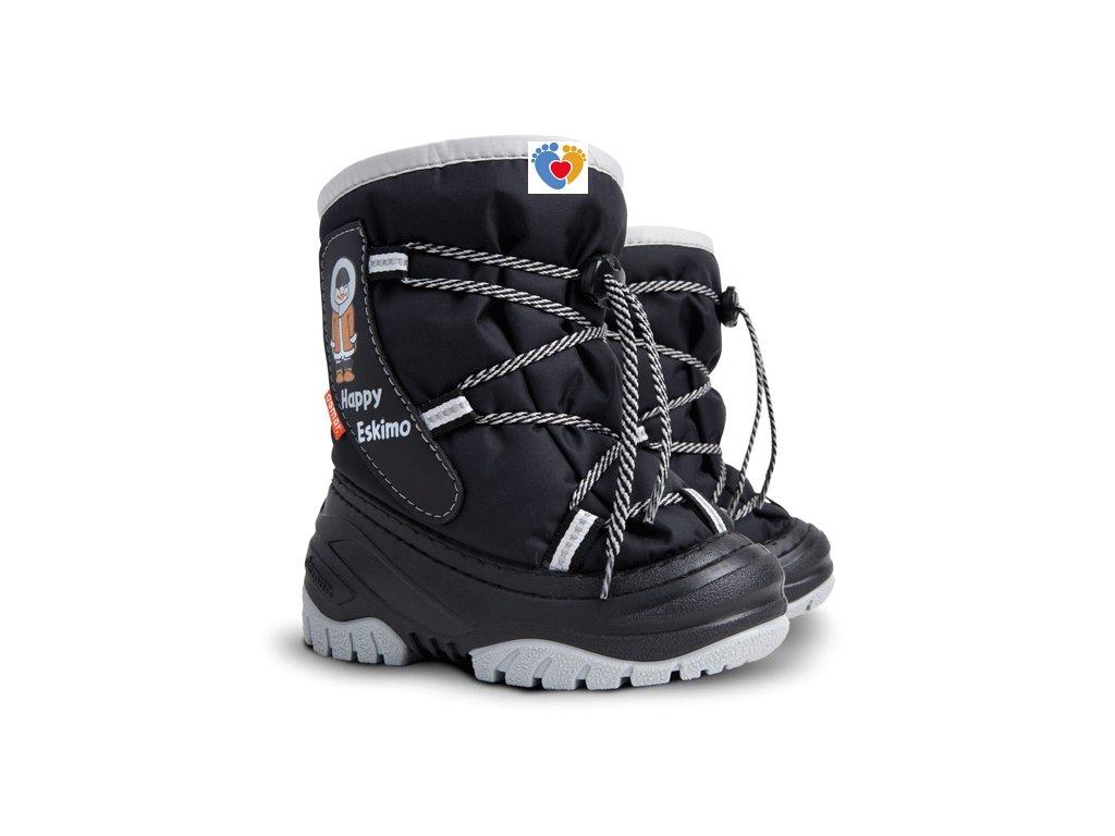 Detské zimné snehule DEMAR-HAPPY ESKIMO C 4035