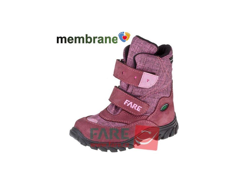 Detská zimná obuv FARE 848293