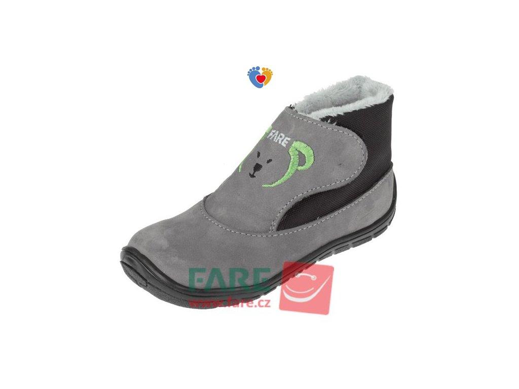 Detské zimné barefoot topánky FARE BARE 5144261