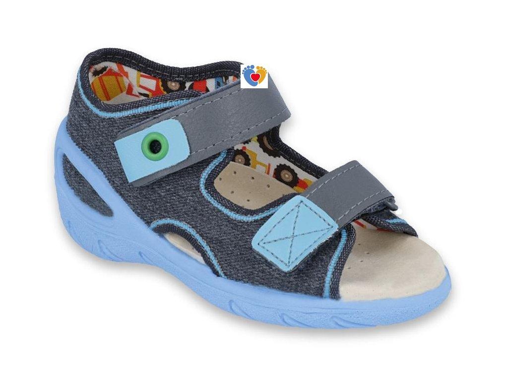 BEFADO chlapčenské sandále SUNNY  065P125