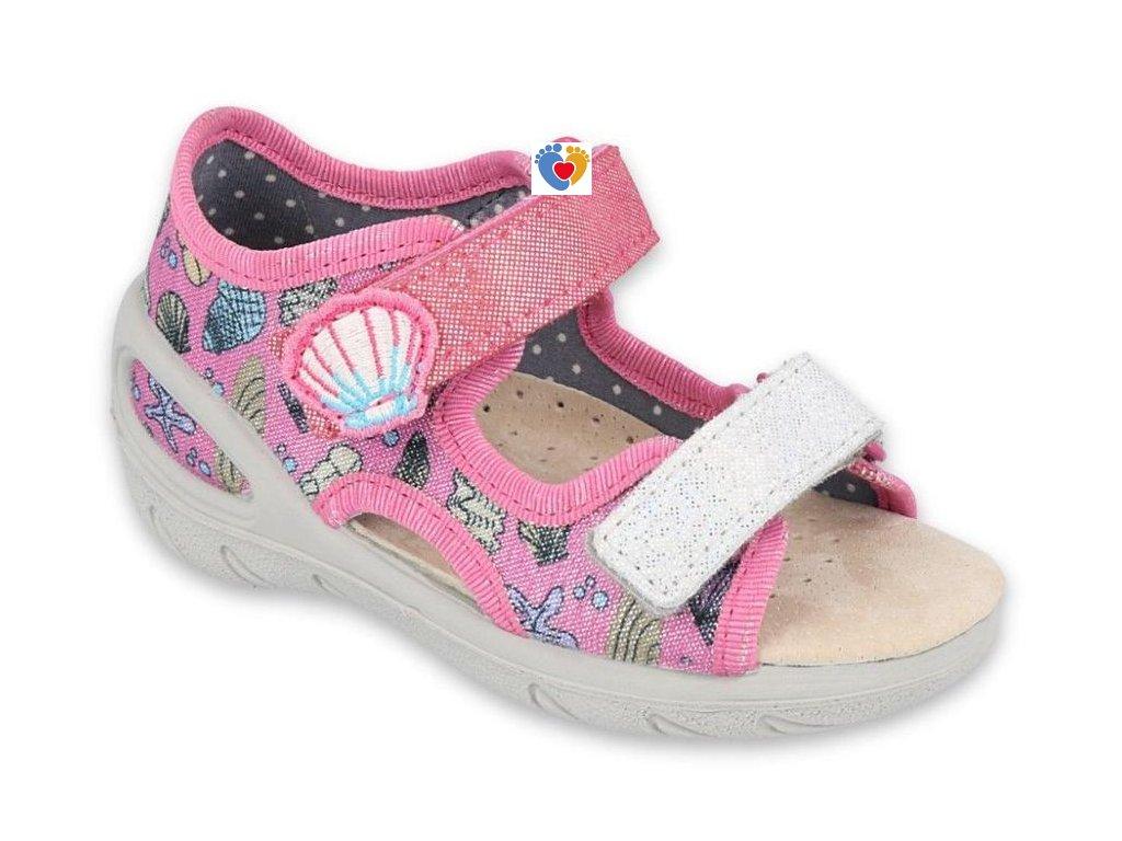 BEFADO dievčenské sandále SUNNY 065X134