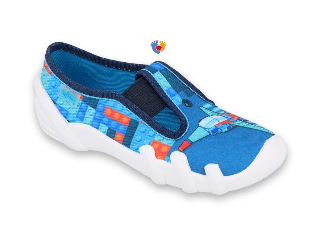 BEFADO chlapčenské papuče SKATE 290X194
