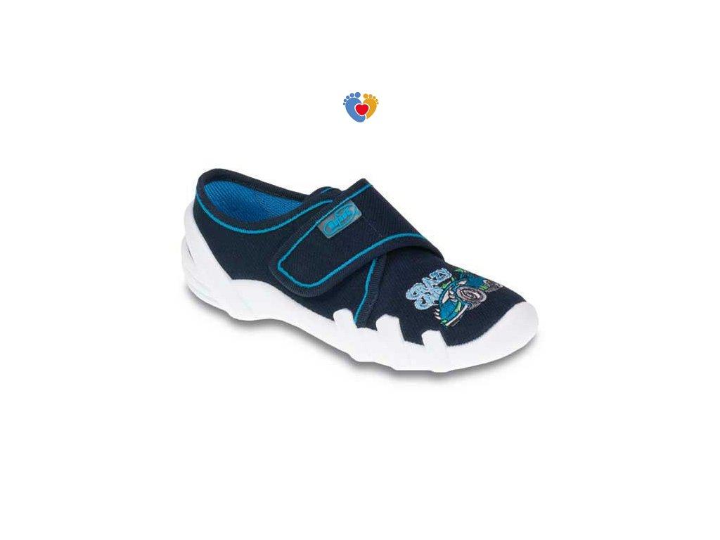 BEFADO chlapčenské papuče SKATE 273X160